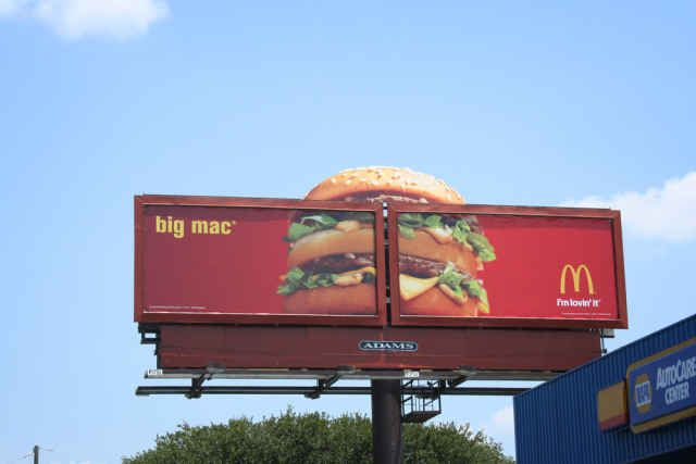 A listing of Billboard Advertising Advantages
