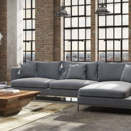 Industrial Furniture Moves Into Chic Decor